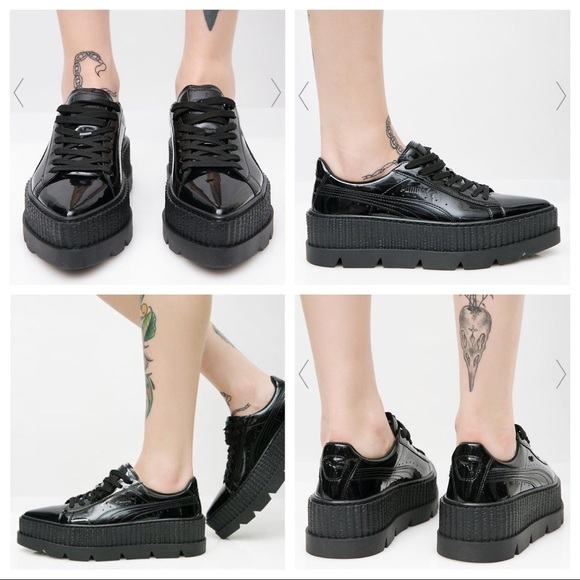 pretty nice 8103f 28964 Puma Fenty Pointy Creepers by Rihanna